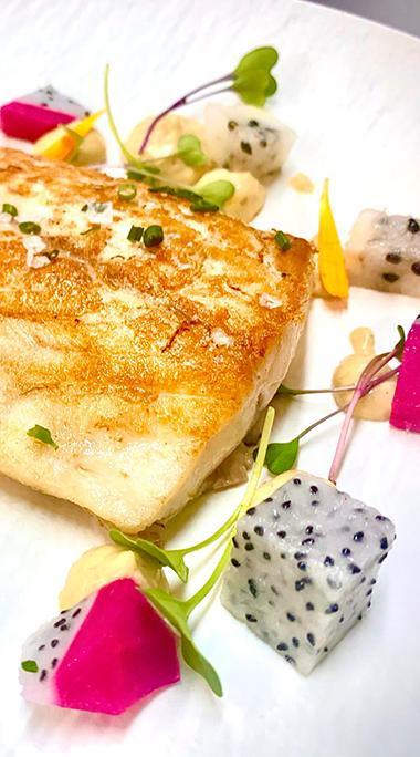 Bacalao con citricos - Restaurante La Torre